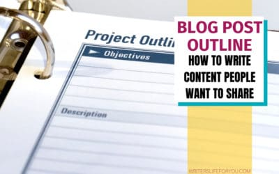 Blog Post Outline: How to Write Helpful Content People Actually Love (+Template)