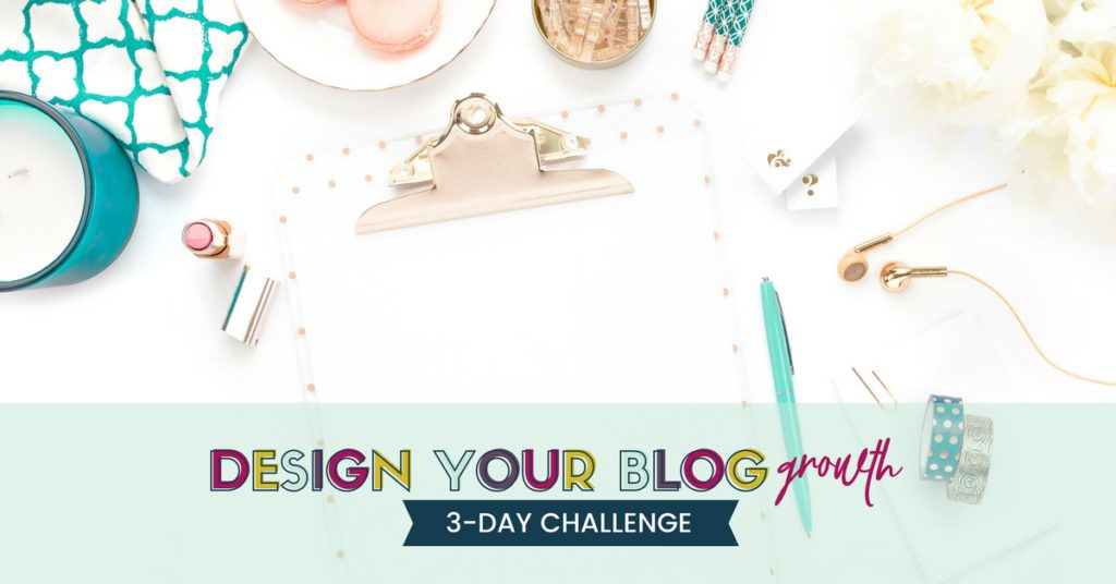 design your blog growth challenge