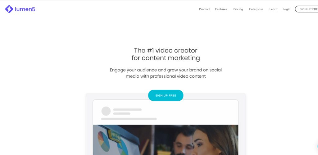 Lumen5 Video Creator