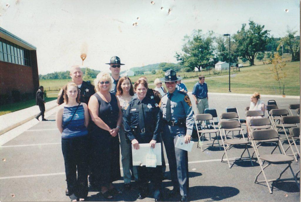 Heather Ritchie Police Academy Graduation