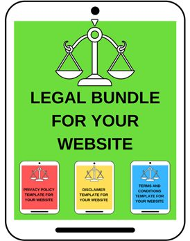legal bundle for your website