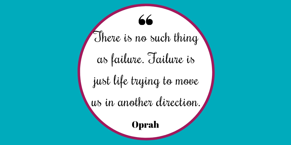 There is no such thing as failure